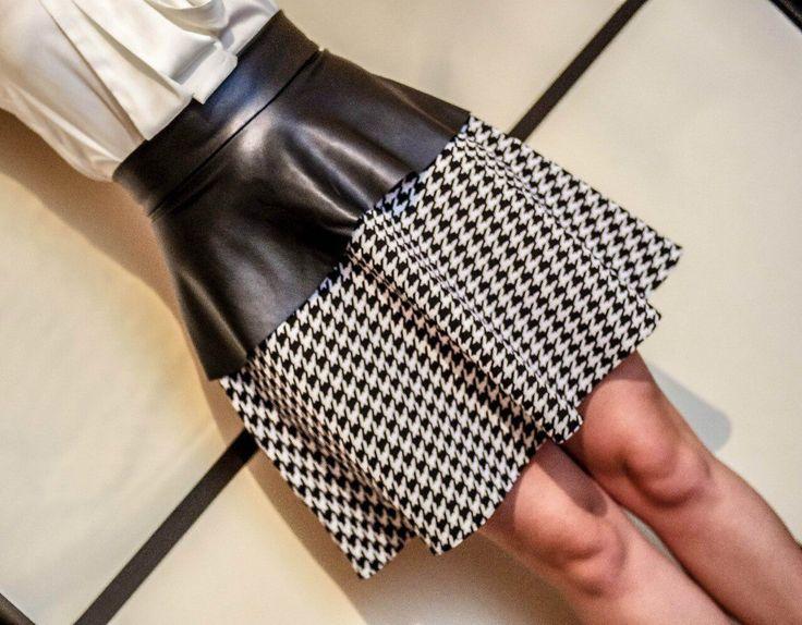 Купить Юбка и баска - юбка-солнце, юбка с баской, юбка в клетку, юбка в клеточку