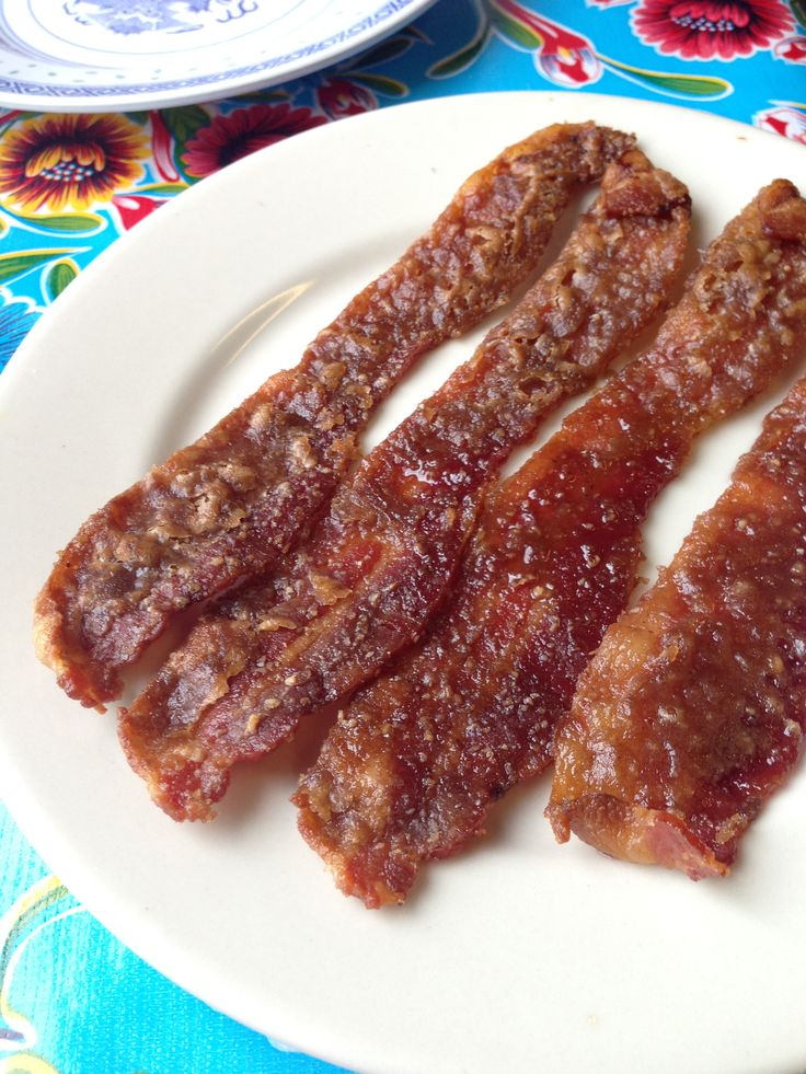 Praline bacon from Elizabeth's | Louisiana Creole Belle | Pinterest