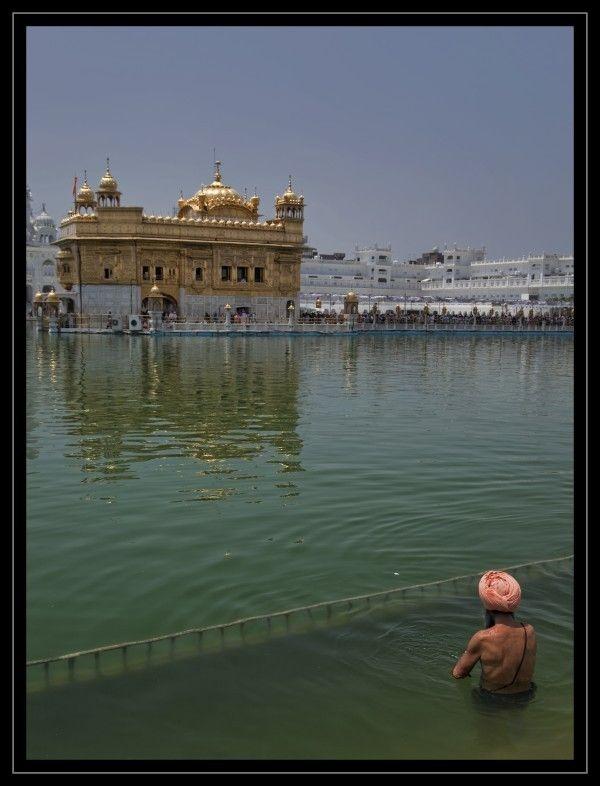 Gouden tempel - foto gemaakt in Haryana en Punjab, India