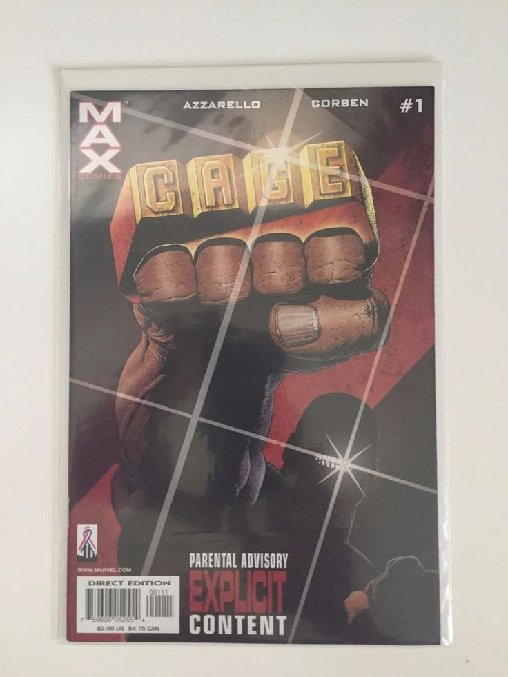Cage vol.3 #1 NM - Luke Cage - hot comic - Marvel MAX - New Netflix series  | eBay