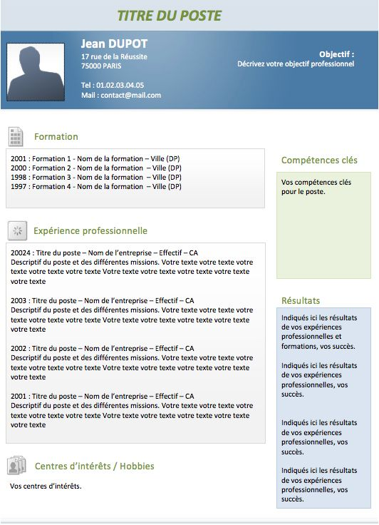 25  best ideas about modele de cv original on pinterest