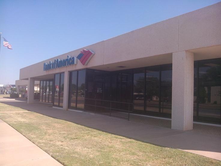 Bank of America, 2200 south 27th Abilene Texas 79698