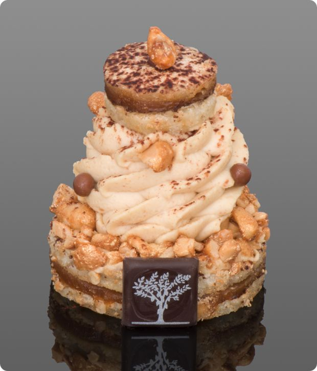 LE PÉCHÉ D'ADAM (I love the story of how this Amurican guy got a peanut-based pastry introduced at his local Parisian patisserie. Apparently the French don't love peanuts. Who knew?)