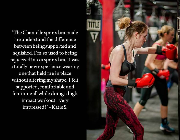 Find out how the Chantelle High-Impact #SportsBra did in our test at Title #Boxing Club in #NYC