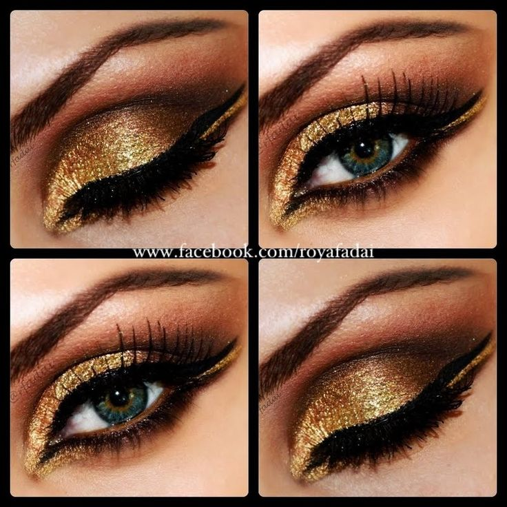 Arabian Goddess by Roya F. Click the pic to see the how-to. #beauty #makeup #bestofbeauty