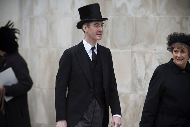 """Oh look, another amusing upper-class tory, just like Boris Johnson! Aren't they funny! NO THEY BLOODY WELL ARE NOT! THEY'RE DEEPLY DANGEROUS REACTIONARY CLOWNS WHO HIDE THEIR DESPITE OF THE WORKING CLASS BEHIND """"ECCENTRIC"""" BEHAVIOUR AND """"AMUSINGLY"""" ARCANE LANGUAGE. Given half a chance they'd remove as many hard fought for rights as they could."""