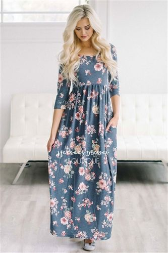 6c0eec19f488 The Lyla in Navy Floral