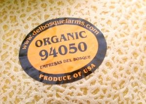 """On produce there is a little sticker that has a number on it. This can tell you if the produce is GMO (genetically modifiied), organic or conventional. Keep in mind that food producers are not required to tell us if the produce they are selling is GMO, so buying organic is still the best option.  If it is a 4-digit number, the food is conventionally produced.  If it is a 5-digit number beginning with an 8, it is GM. However, do not trust that GE foods will have a ..."""