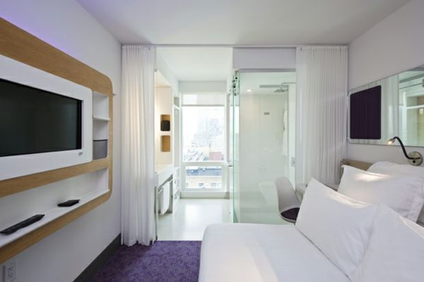 Ausgefallene Hotels - Das New Yorker Yotel Hotel  - http://freshideen.com/hotels/ausgefallene-hotels-2.html