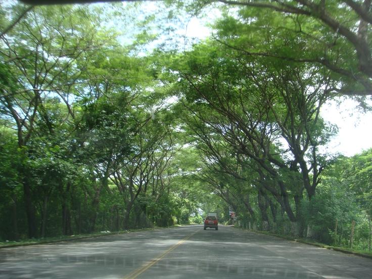 On our way to San Miguel, El Salvador