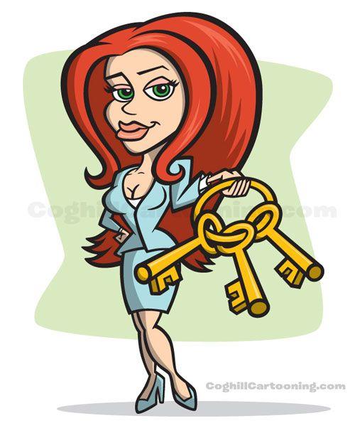 2 Female Cartoon Characters : Cartoon girl female characters this sexy bail bondswoman