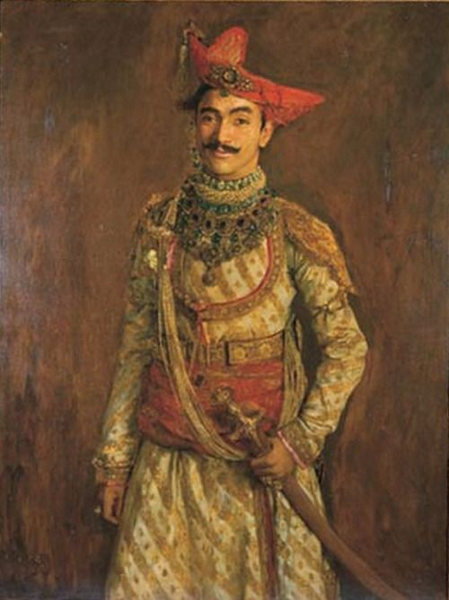 Maharaja Tukoji Rao III Puar of Dewas Sr