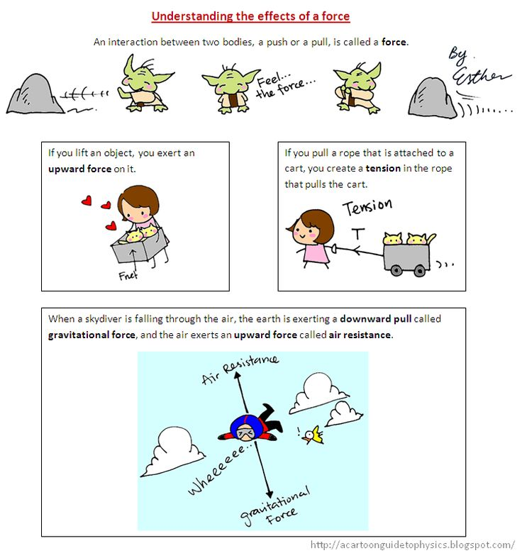 A Cartoon Guide to Physics: A Brief Introduction to Newton's Laws