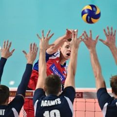 European Championship volleyball qualification match between Czech Republic and Estonia