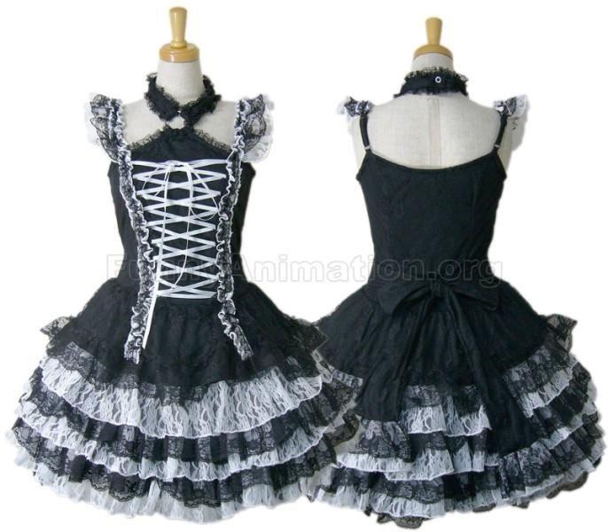 Как сшить платье gotic lolit