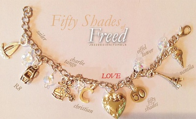 Fifty shades Freed Charm Bracelet...I want this
