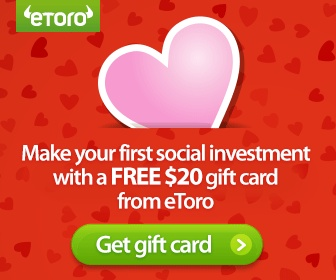 Make your first social investment with a free $20 gift card