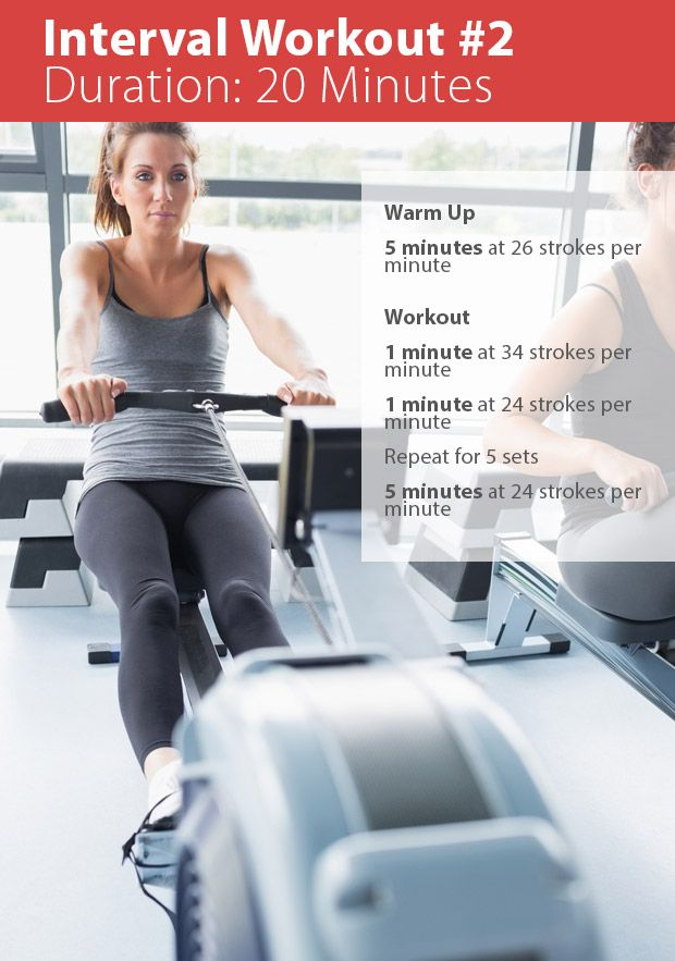 best rowing machine workout