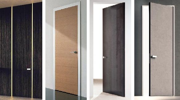 special doors with stone, floor to ceiling, no frame, Loft mylofteu