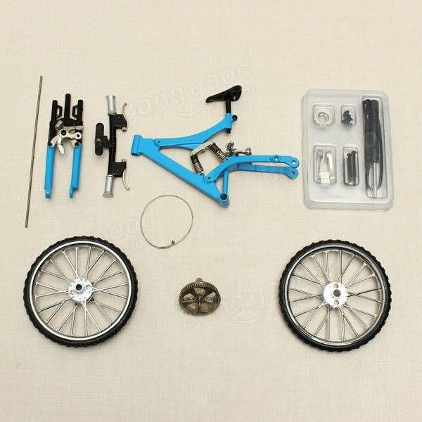 Bicycle Model Simulation DIY Alloy Mountain/Road Bicycle Set Decoration Gift Model Sale - Banggood.com