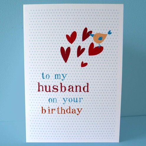 7 best birthday cards images on pinterest birthday cards for husband birthday card diy folksy buy husband birthday thecheapjerseys Images