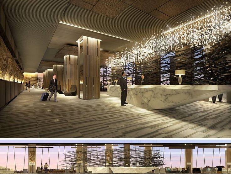 Lobby of intercontinental nha trang vietnam for Design hotel vietnam