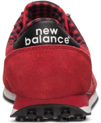 New Balance Women's 410 Casual Sneakers from Finish Line - Red 6.5