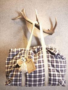 burda style: Damen - Accessoires - Taschen - Tasche - Baumwollflanell - Anhänger