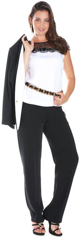 La mia scelta ed i miei gusti nel campo della moda, per classe ed elegante. Anche taglia XL. Ninni -Completo taglia forte.
