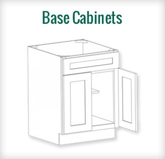Bristol Chocolate RTA Base Cabinets @ Discount Price