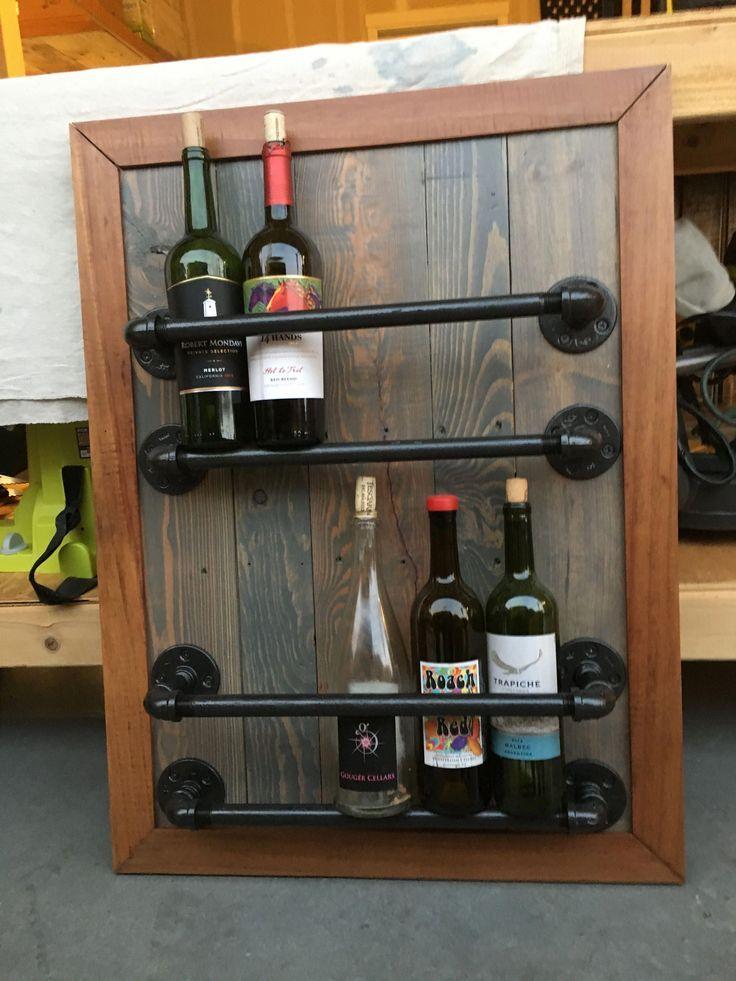 14 Diy Wine Racks Made Of Wood Wine Rack Diy Wine Rack Rustic