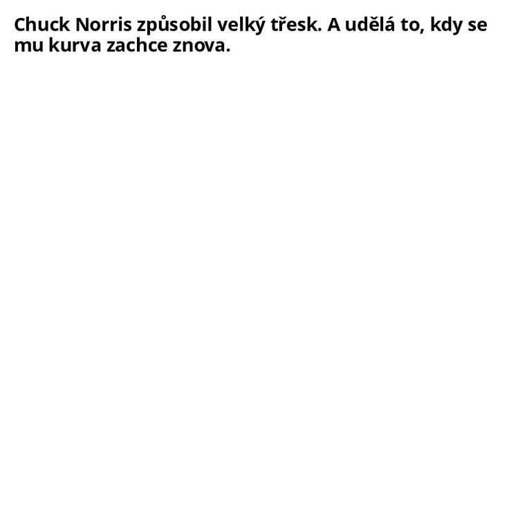 Chuck Norris a velký třesk