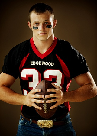Football player and cowboy?! Uhh..yes please.
