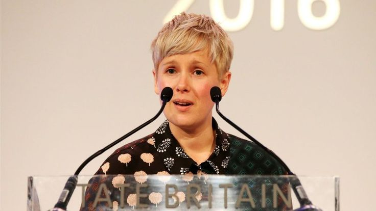 Helen Marten has won the Turner Prize, and has said she intends to share the £25,000 award with her fellow nominees.