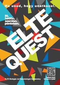 Szabó Anita - ELTE Quest plakát - sötét