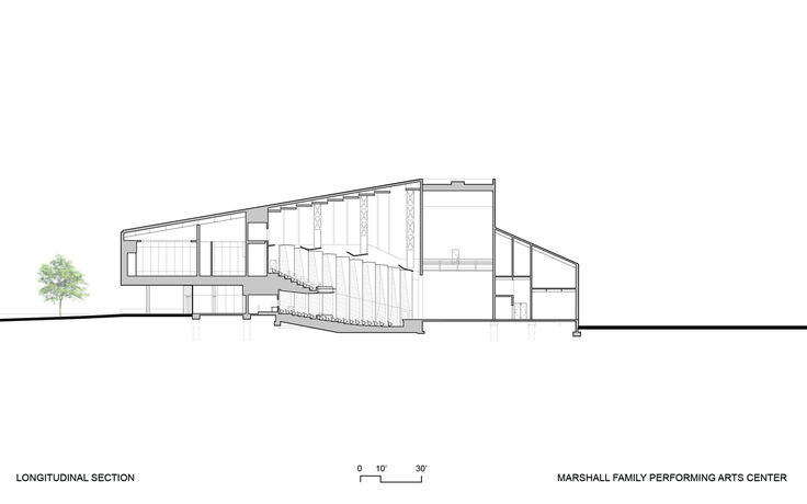 Gallery of The Marshall Family Performing Arts Center / Weiss/Manfredi - 23