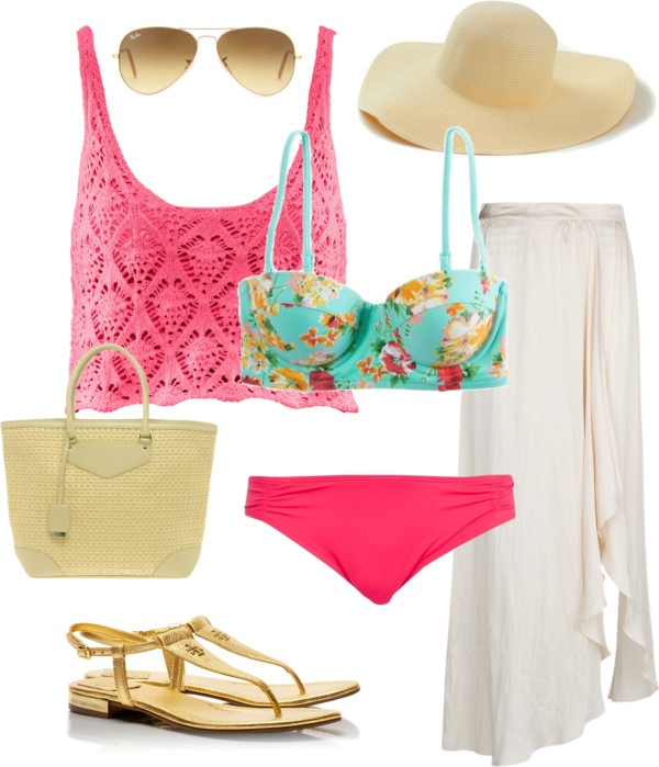 """To the Beach!!!"" by romina-sanchez on Polyvore"