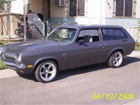 Vega Wagon-looks similar to Dad's 1st Vega