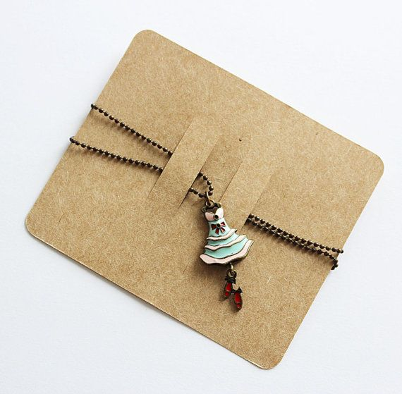 200 Pcs Of Blank Hair Clip Display Card In Brown Kraft