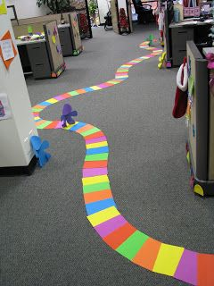 Candyland Christmas for work