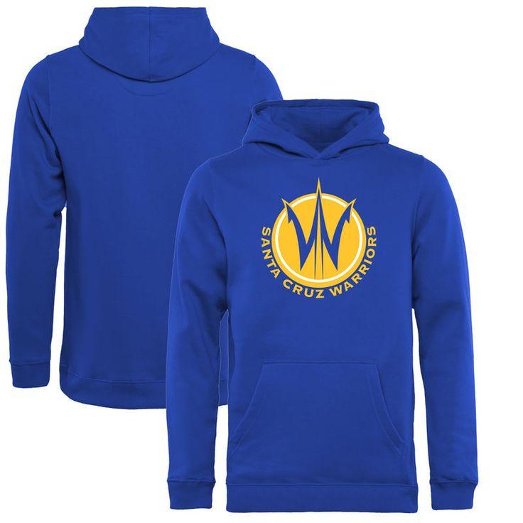 Santa Cruz Warriors Fanatics Branded Youth Primary Logo Pullover Hoodie - Royal