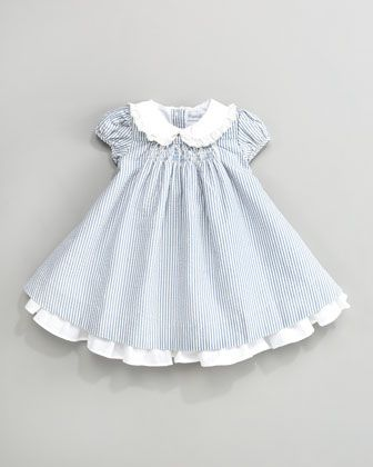 Seersucker Dress by Ralph Lauren Childrenswear at Neiman Marcus.