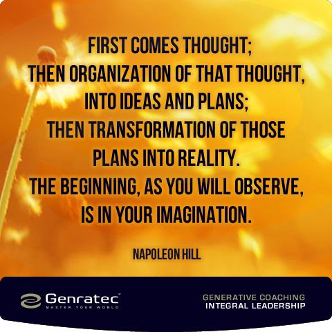 Thought ~ Napolean Hill