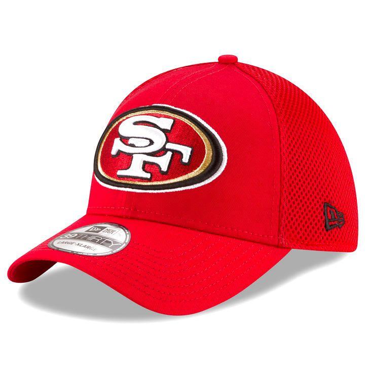San Francisco 49ers New Era Mega Team Neo 39THIRTY Flex Hat - Scarlet - $19.99