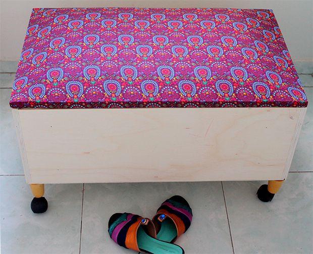 DIY: Passo a passo para fazer uma sapateira usando uma gaveta antiga;