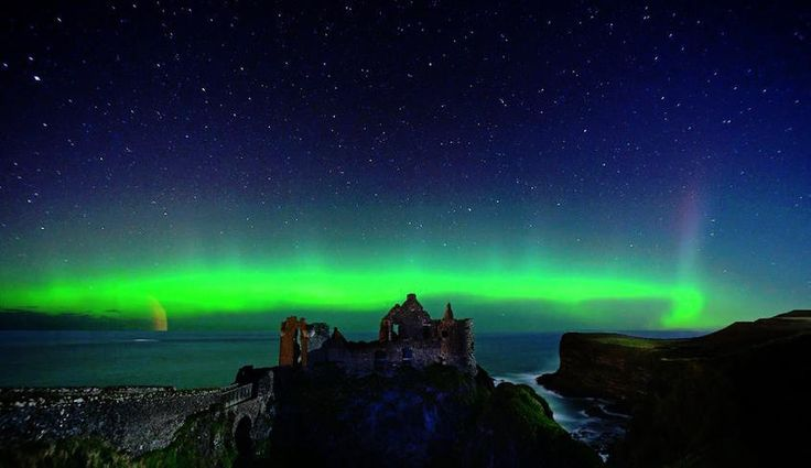 Catch a glimpse of the Northern Lights (http://www.astronomy.ie/aurora.php)