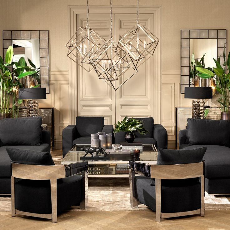 Eichholtz Rubautelli Chair Panama Black