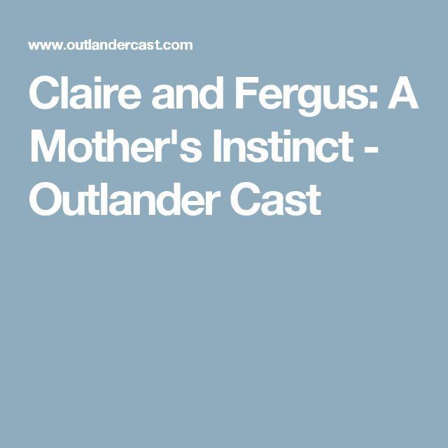 Claire and Fergus: A Mother's Instinct - Outlander Cast