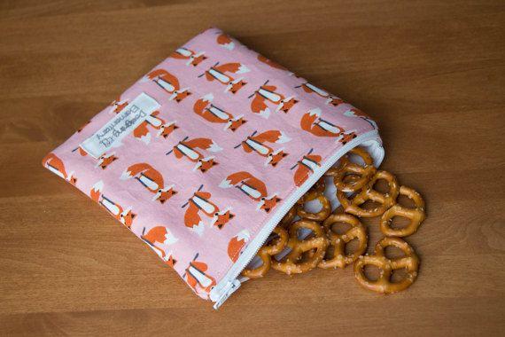 Snack Sets School Lunch Bag Kids Snack Bag Reusable