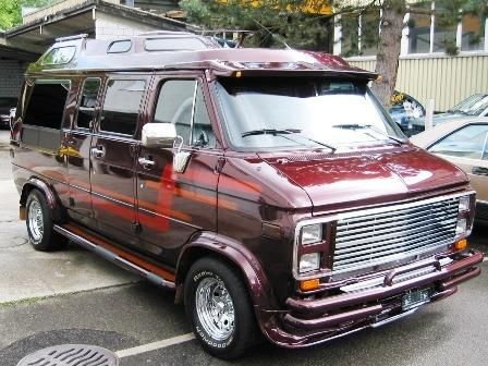 Conversion Vans Custom Car Show | Chevrolet Van G20 Show Van 5.7 V8 4st. Automat 1988